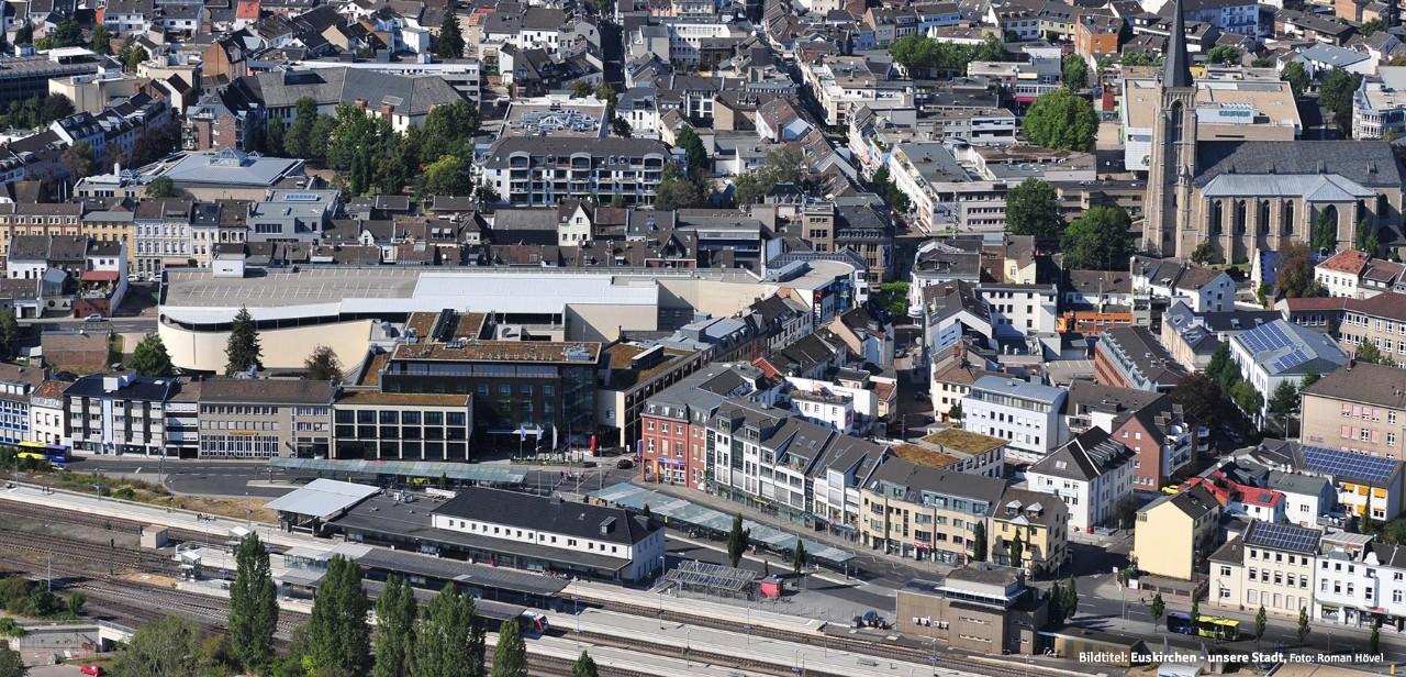 Panorama der Stadt Euskirchen